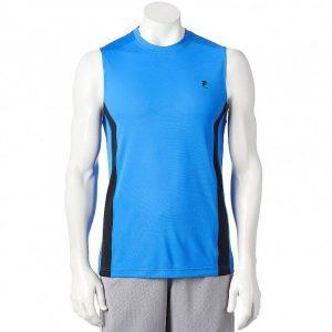 Camiseta Esqueleto Fila Sport Performance azul
