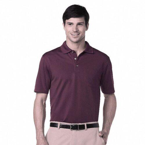 Polo Grand Slam Performance Golf con bolsillo