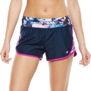 Short Tek Gear Knit Waistband Running azul marino