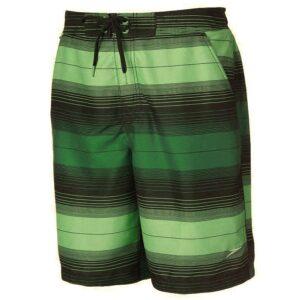 Bermuda Speedo Amplify Stripe Swim verde claro