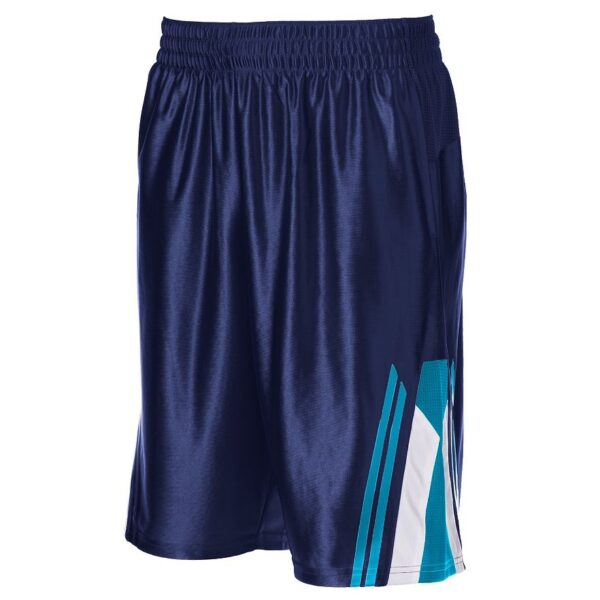 Pantaloneta Tek Gear Fly Basketball azul
