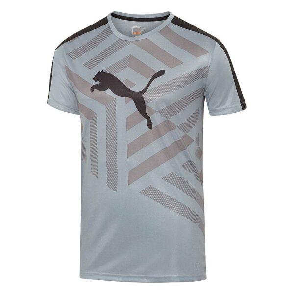 Camiseta Puma deportivo Evo gris