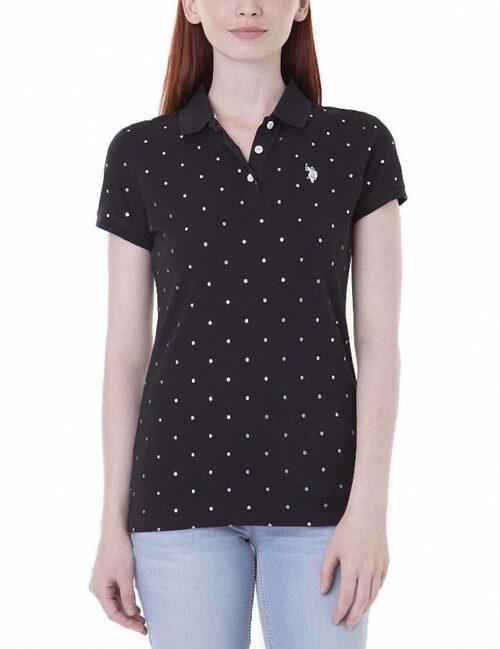 Camiseta Polo US Polo Lurex Dot