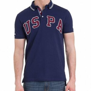 Camiseta Polo US Polo USPA navy