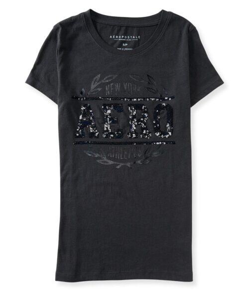 Camiseta Aeropostale Laurel con lentejuelas