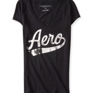 Camiseta Aeropostale NYC logo cuello v