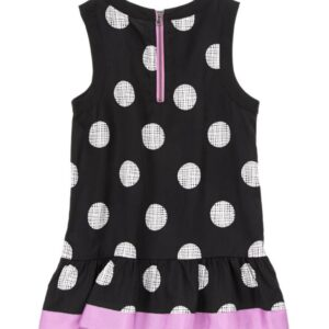 Blusa Gymboree Dotted Ribbon Trim negro