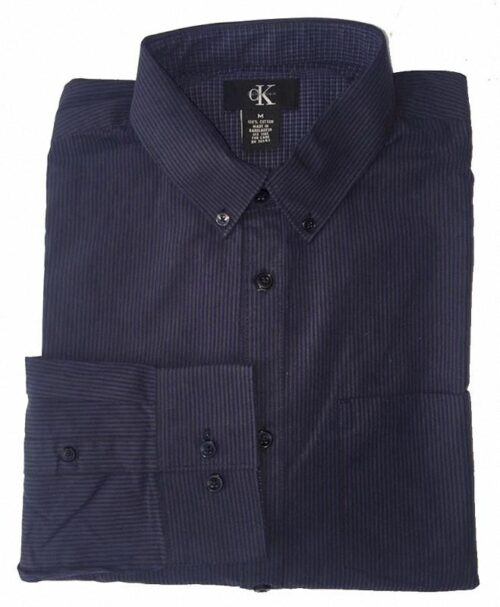 Camisa Calvin Klein de lineas manga larga