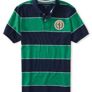 Polo Aeropostale NY Crest Rugby de Franjas