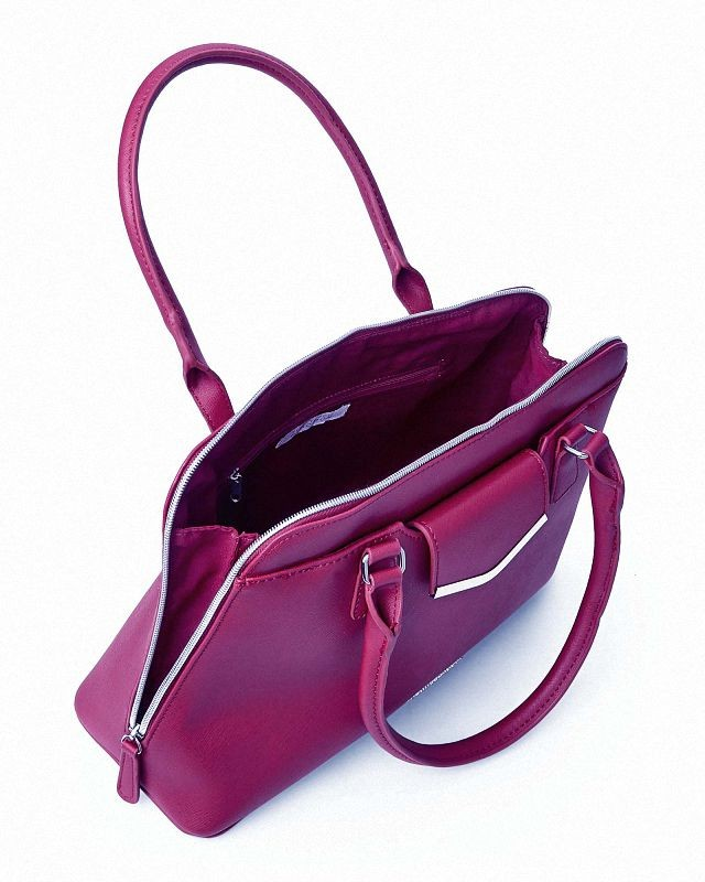 Cartera kenneth cole reaction aussie satchel vino tinto