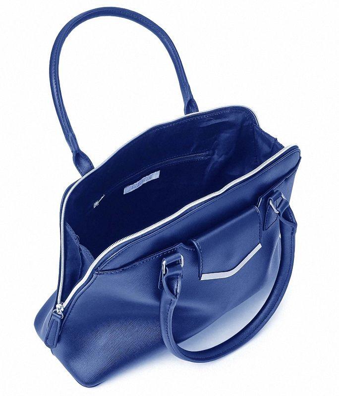 Cartera kenneth cole reaction aussie satchel azul