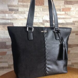 Cartera Nine West Suede Split Tote Grande