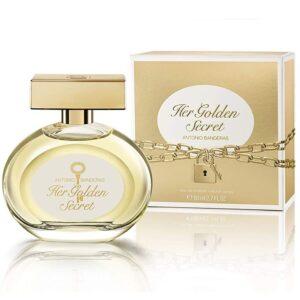Perfume Her Golden Secret de Antonio Banderas para mujer 80ml