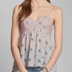 Blusa Abercrombie Jordan Cami rosado