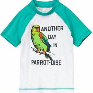 Camiseta de Baño Gymboree Parrot Rash Guard