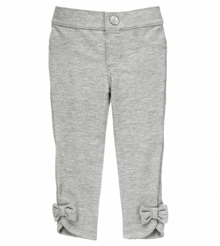Leggings Gymboree bow gris
