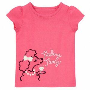 Camiseta Gymboree Feeling Fancy rosado