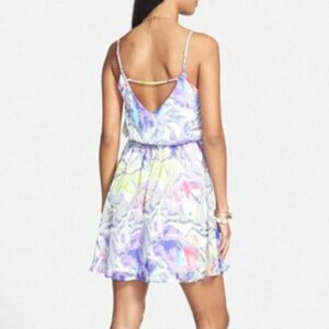 Vestido Everly Floral Print Strap Detail