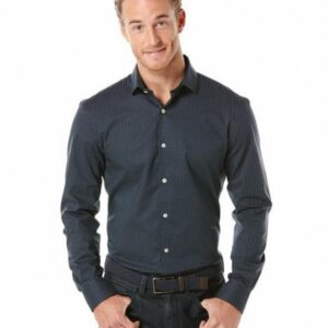 Camisa Perry Ellis Mini Dot Print