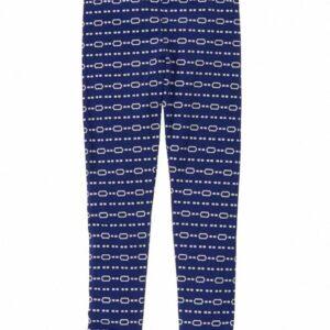 Leggings Gymboree Geo Stripe azul
