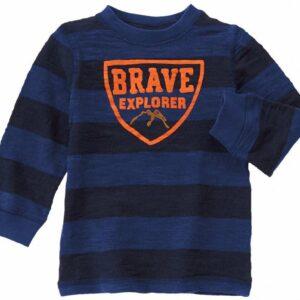 Camiseta Gymboree Brave Explorer manga larga