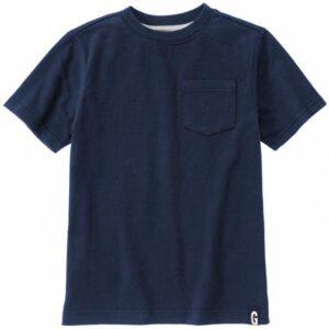 Camiseta Gymboree con bolsillo manga corta gris