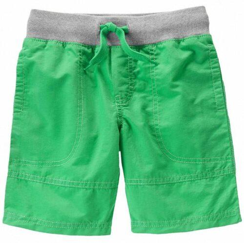 Shorts Gymboree Ribbed Waist verde