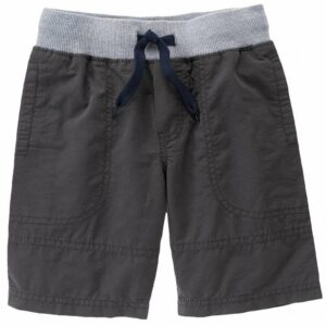 Shorts Gymboree Ribbed Waist gris oscuro