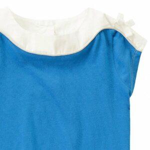 Blusa Gymboree Contrast Trim Tunic