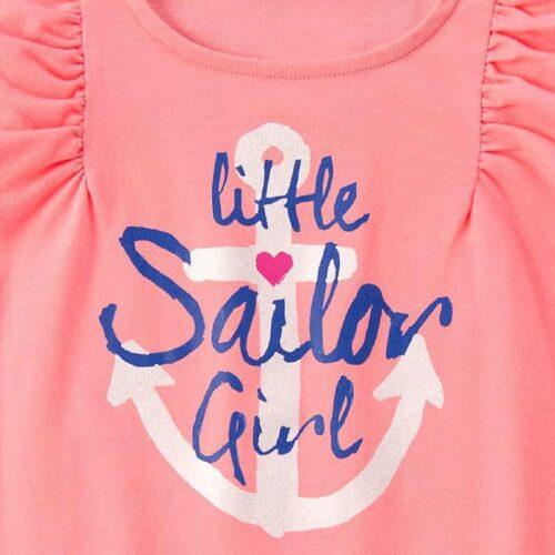 Blusa Gymboree Sailor Girl Flutter