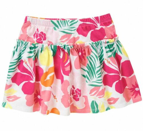 Falda Short Gymboree Tropical Flowers