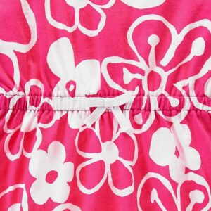 Vestido Gymboree Drawn Flower rosado