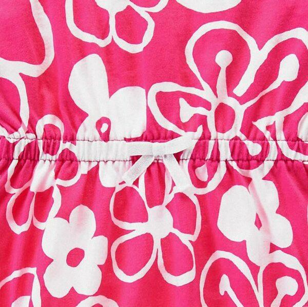 Vestido Gymboree Drawn Flower rosado