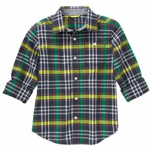 Camisa Gymboree Plaid verde
