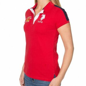 Polo US Polo Assn Flag Logo rojo
