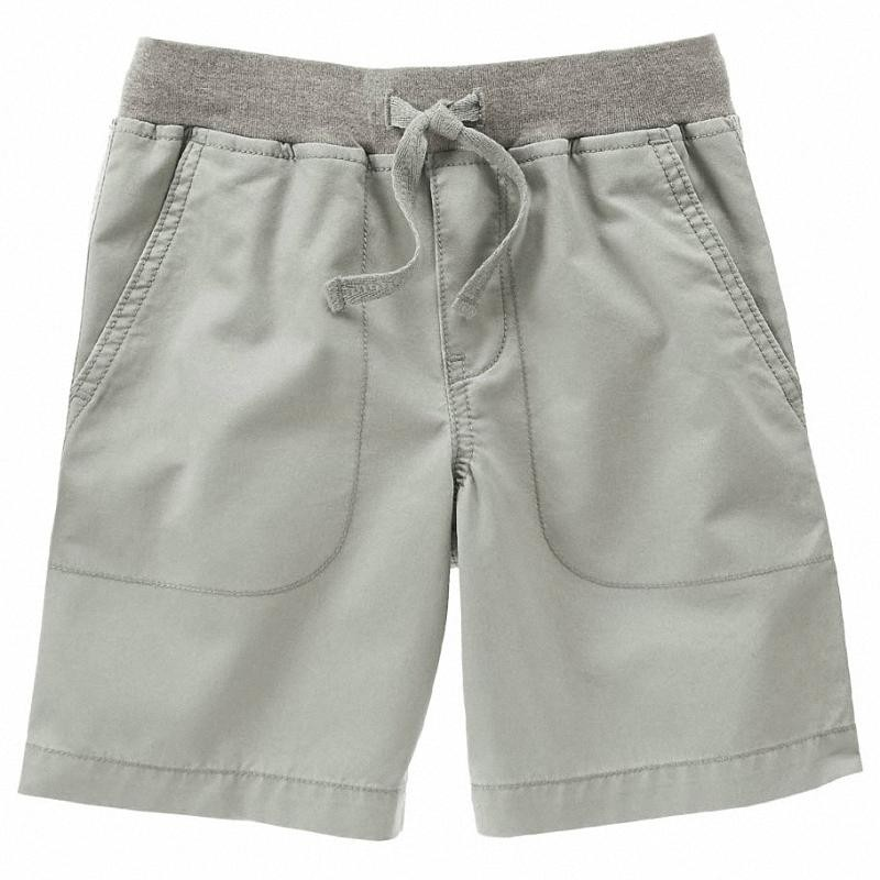 Short Gymboree Ribbed Ocean Fog