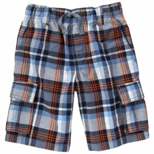 Short Gymboree Cargo a cuadros nautical