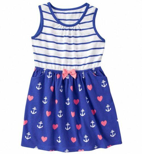 Vestido Gymboree Hearts & Anchors
