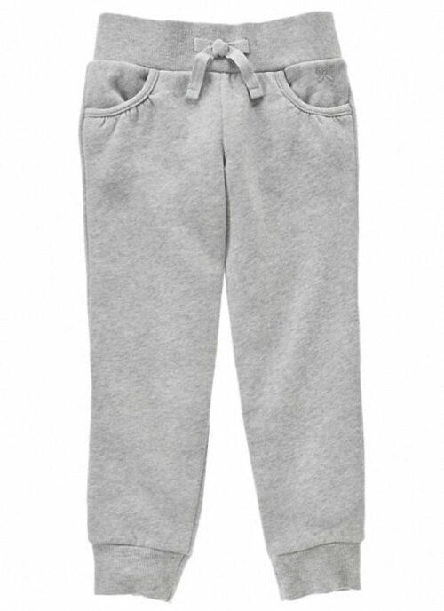 Pantalon Gymboree Pull-On Fleece gris