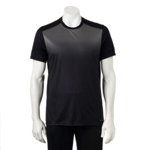 Camiseta Tek Gear Media con bolsillo negro gris
