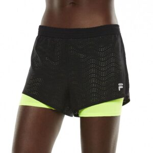 Short Fila Sport Perforated Double-Layer Running