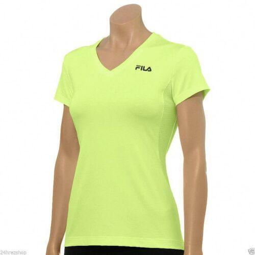 Camiseta Fila Sport Core Essential Racer Performance verde claro