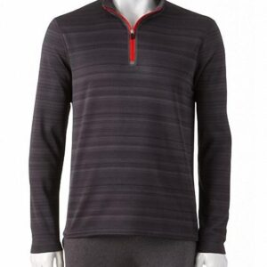 Camiseta Fila Element Quarter-Zip Top gris oscuro