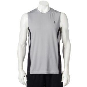 Camiseta Esqueleto Fila Sport Performance gris claro